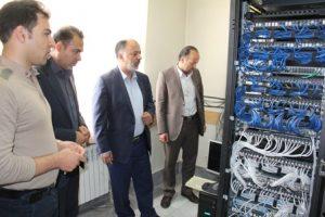 دادگستری نجف آباد بعنوان اولین نقطه قضایی کشور به شبکه فیبر نوری متصل شد
